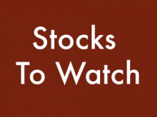 Must Watch Stocks for December 29, 2014