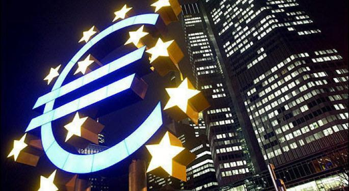 European Central Bank Paints Bleak Portrait of Economy