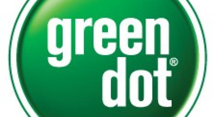 Green Dot Ends Day Up 6.6%, Falls 1.8% After Hours GDOT