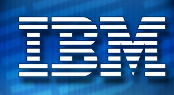 IBM Interested in Research In Motion's Enterprise Services Unit
