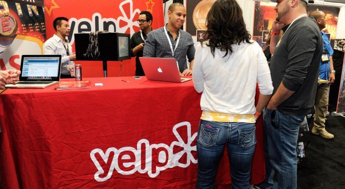 Yelp Rises On Q2 Beat YELP