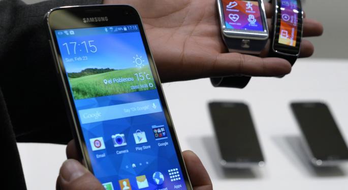 Samsung's Latest Anti-Apple Weapon: The Galaxy S5