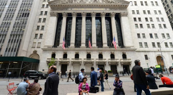Mid-Morning Market Update: Markets Edge Higher; Tyson Wins Bidding Battle To Buy Hillshire Brands For $63/Share