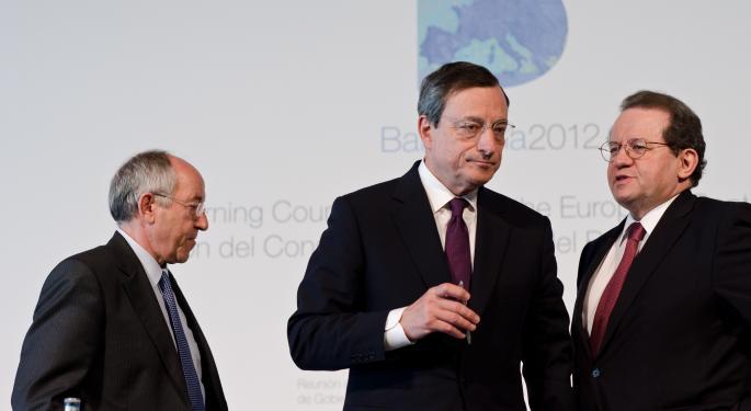 IMF Tells Draghi to Cut Rates