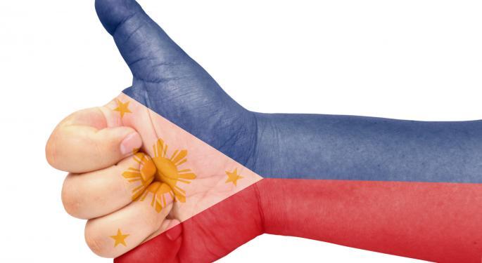 Despite Good News, Philippines ETF Flirts With Correction