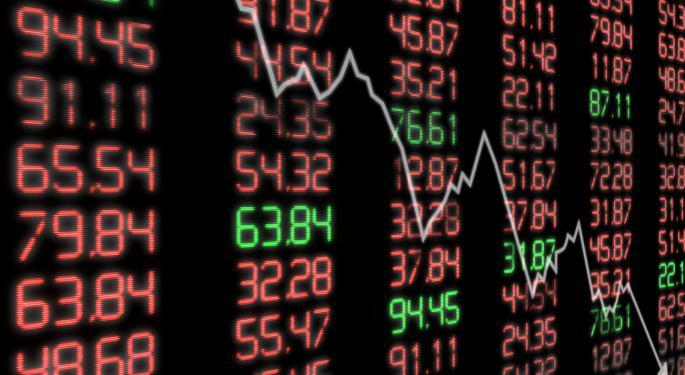 Mid-Day Market Update: US Stocks Turn Red; La-Z-Boy Declines On Downbeat Results