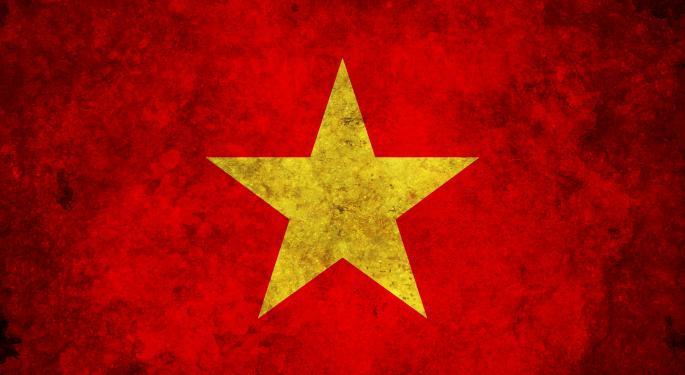 Vietnam ETF Falls After Local 'Flash Crash'