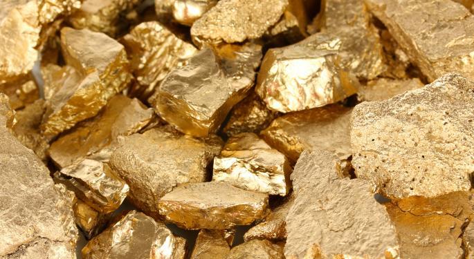 Short Interest Swings In Gold Stocks AU, EGO, RGLD