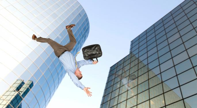 LinkedIn Falls Despite Huge Market Rally
