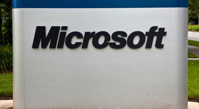UPDATE: Microsoft Downgraded at Bank of America on Lack of Momentum