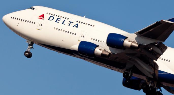 Short Interest in Delta Air Lines Surges