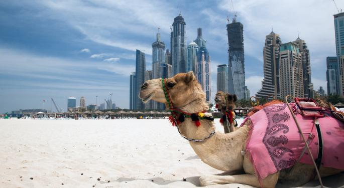 Volume Spikes in Frontier ETFs as Dubai Stocks Surge