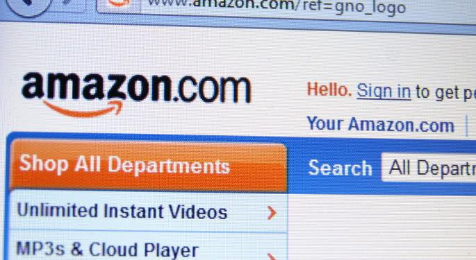 "Benchmark Raises Price Target on Amazon; Goldman Also Says ""Buy"""