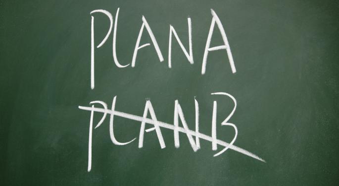 "Brent Falling After ""Plan B"" Fails"