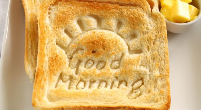 Mid-Morning Market Update: Markets Rise, Pfizer Posts Higher Profit