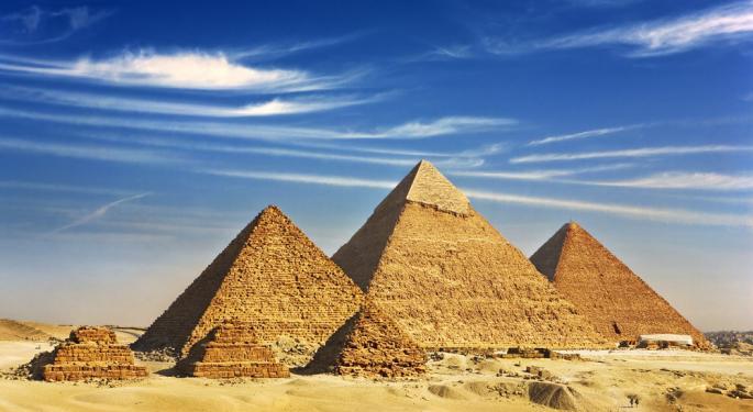 Egypt ETF Slides on IMF Loan Doubts
