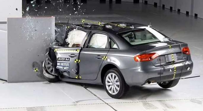 Luxury Cars Fail Crash Test; Ford Recalls More Vehicles