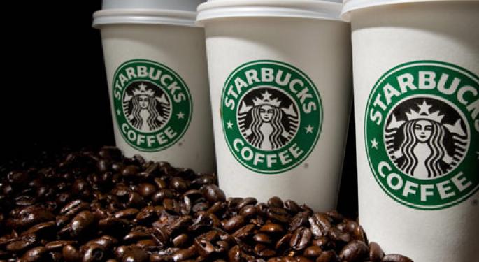Starbucks Enters Green Mountain's Single-Serve Coffee Market