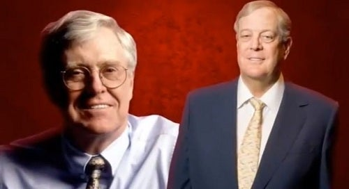David and Charles Koch