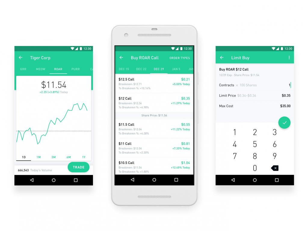 Binary options robinhood