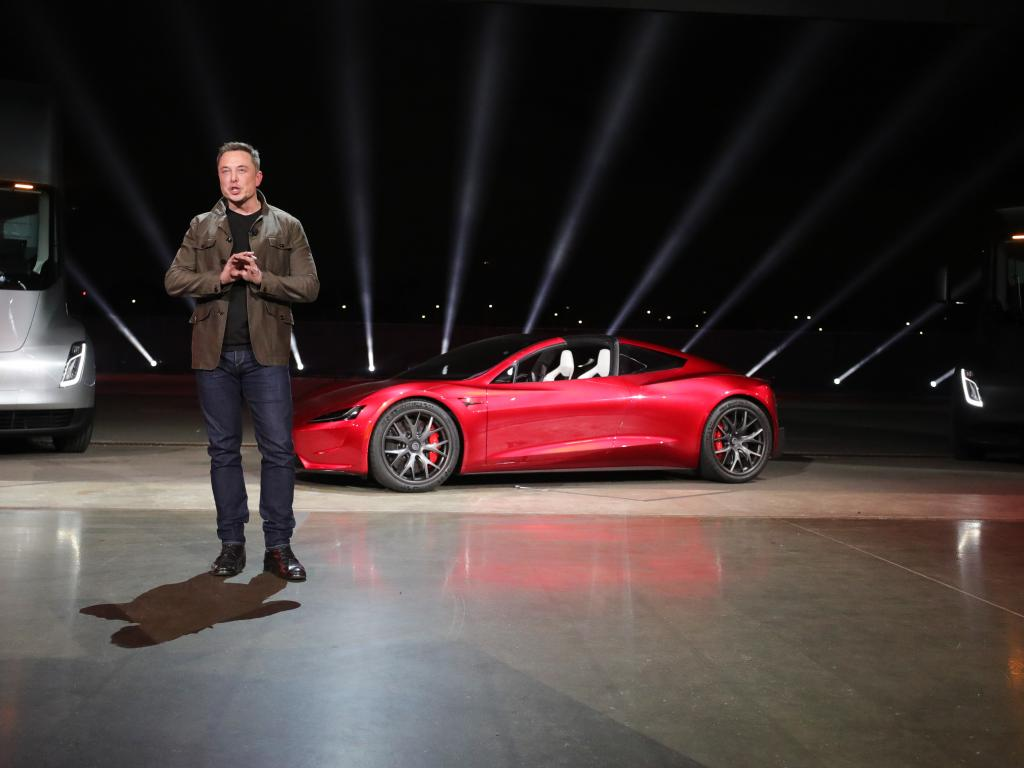 First flight of Falcon Heavy rocket will carry Tesla Roadster