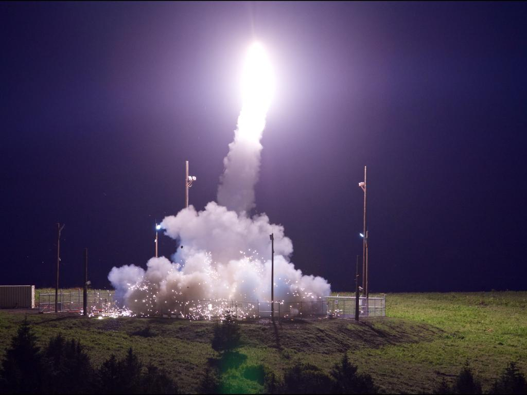 THAAD Succserfully Intercepts an IRBM Target from Alaska