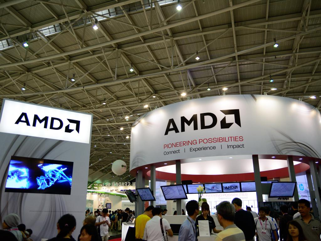 Advanced Micro Devices Sharply Higher Amid Intel Chatter, Analyst Day
