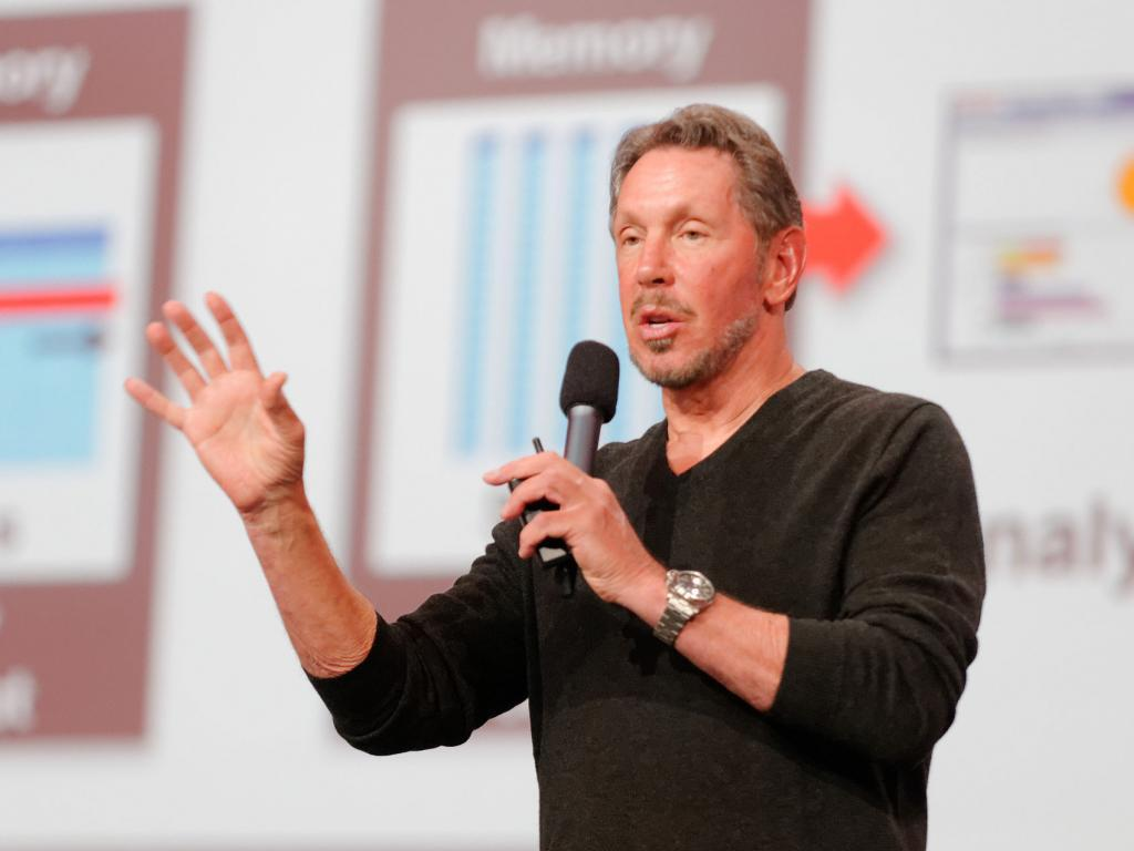 Billionaire Oracle founder Larry Ellison reveals $1bn stake in Tesla