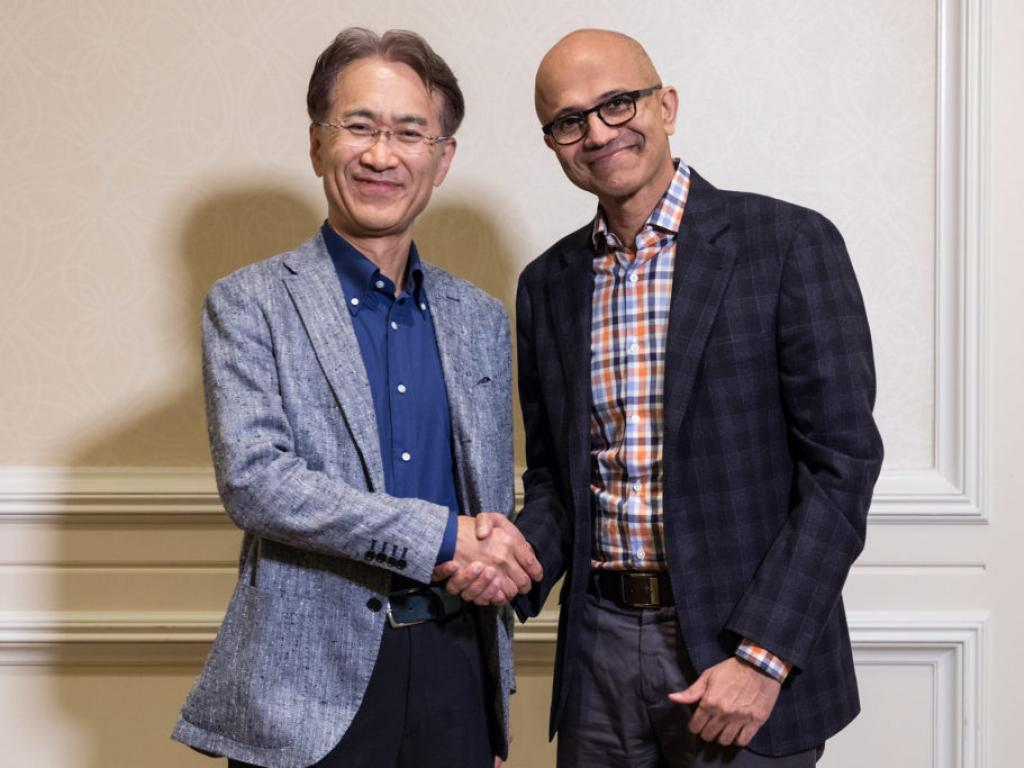 Microsoft and Sony announce partnership to explore cloud based solutions for gaming