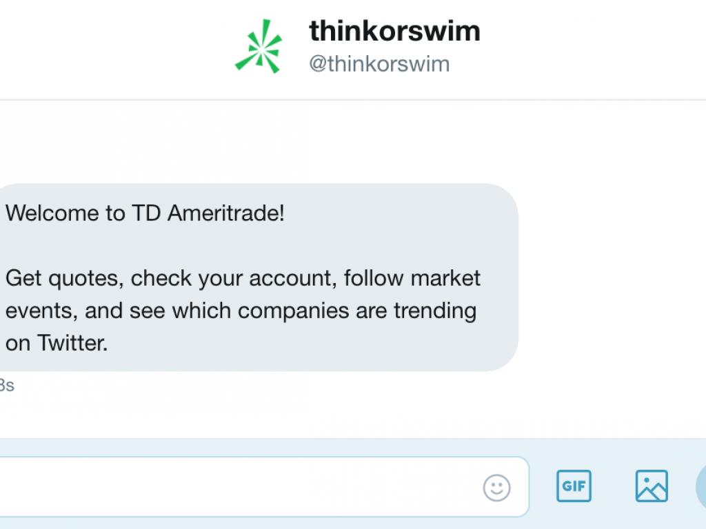 How TD Ameritrade's Twitter Chatbot Works (NASDAQ:AMTD)   Benzinga