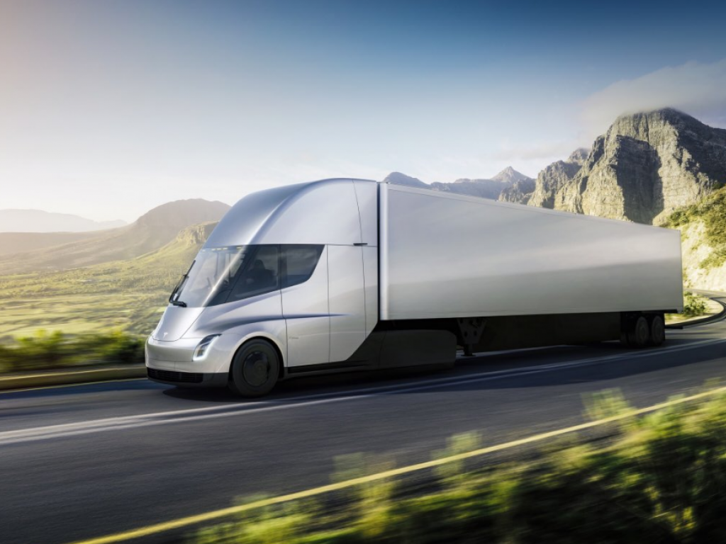 Tesla to enter trucking business with new electric semi