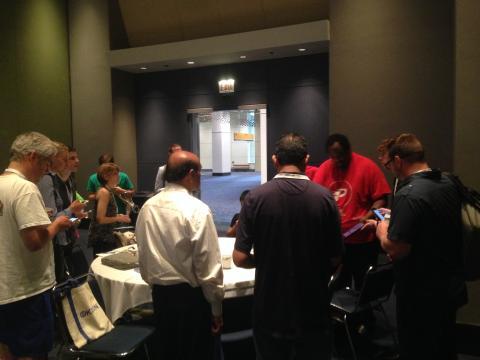 Lamar Wilson teaching new bitcoin users