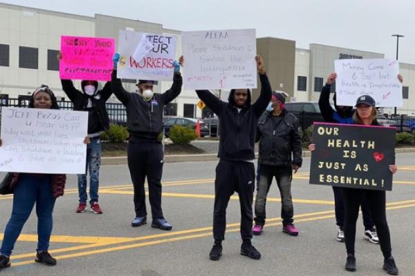 Striking Amazon Worker Fired For 'Putting The Teams At Risk,' Employee Says He Tried To Protect Workers' Lives