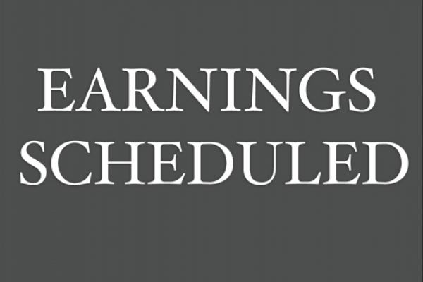 Earnings Scheduled For April 2, 2020