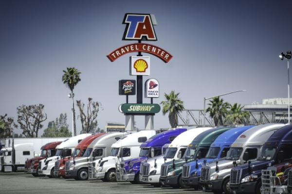 Industry Groups Urge States To Cut Truckers Slack At Travel Plazas
