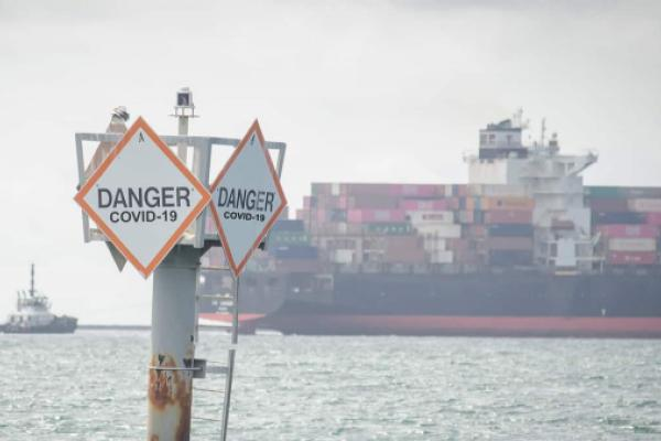 Will Ports Bar Cargo Ships With COVID-19-Positive Crew?