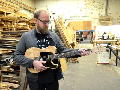 Detroit Startup Uses Reclaimed Wood To Build Guitars: 'I Want People To Feel Like They're ...