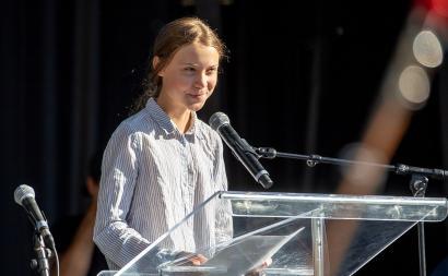 Greta Thunberg photo byLëa-Kim Châteauneufvia Wikimedia.