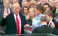 https://commons.wikimedia.org/wiki/File:Donald_Trump_taking_his_Oath_of_Office.p
