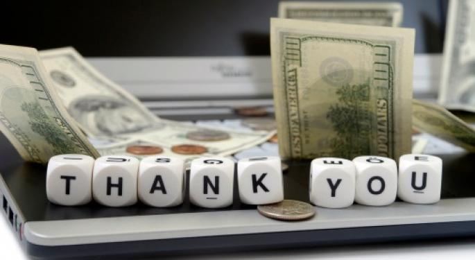 Did You Give Thanks this Weekend for the Fed's Easy Money Policy?