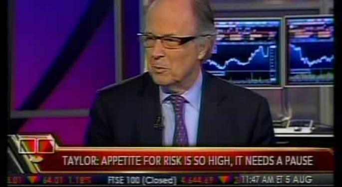 FX Concept's John Taylor Says Euro Going To $1.20 On Bloomberg TV