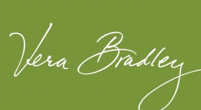 Vera Bradley Falls 6% After Q2 Report