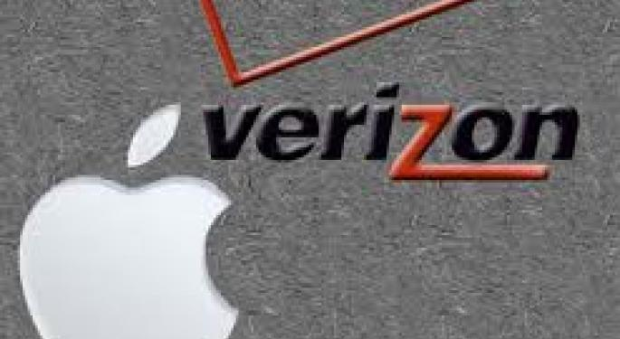 Verzion Finally Getting The iPhone AAPL, VZ