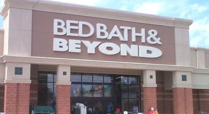 Social Market Analytics looks at Bed, Bath, and Beyond