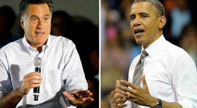 Obama versus Romney: Betting on Who Will Win in November