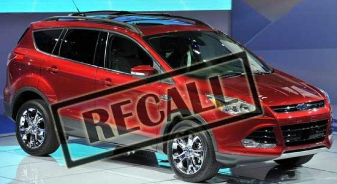 Ford Blazes into September with Another Recall