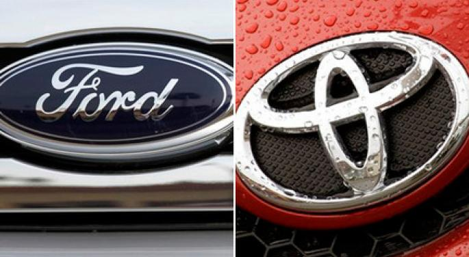 Overseas Troubles Heighten for Ford, Toyota
