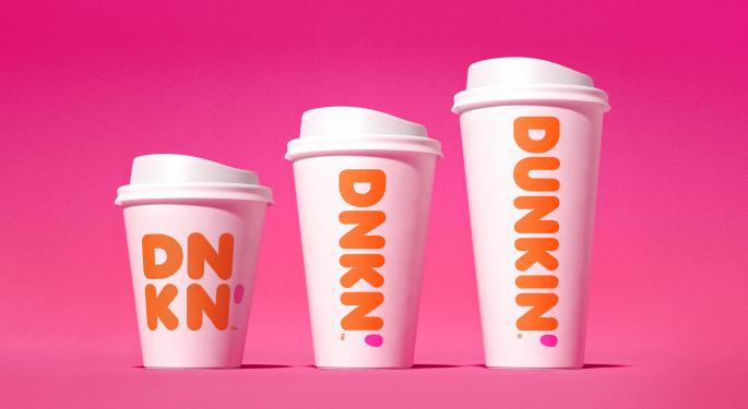 Valuation Concerns Prompt BMO To Downgrade Dunkin' Brands