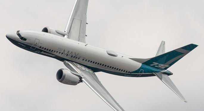 Boeing Stock Falls After WSJ Reports Further 737 MAX Delays