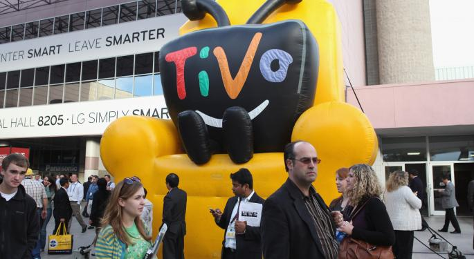 TiVo Rises Slightly After Positive Q3 Results